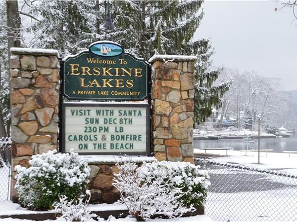 Erskine Lake - Winter Wonderland