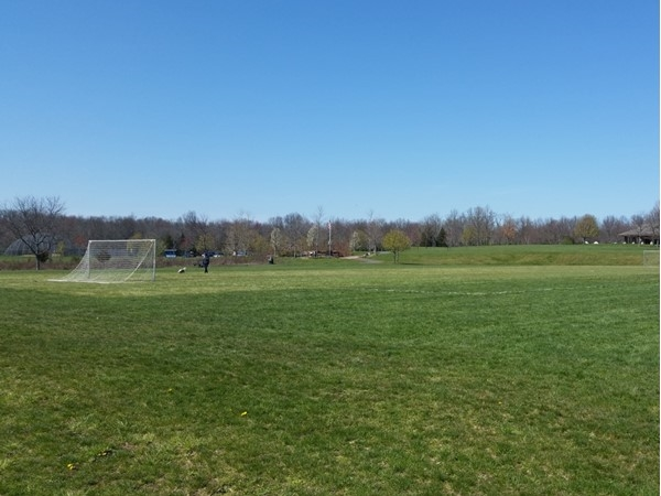 Harry Dunham Park in Basking Ridge has soccer fields, a hockey rink, baseball fields, and more