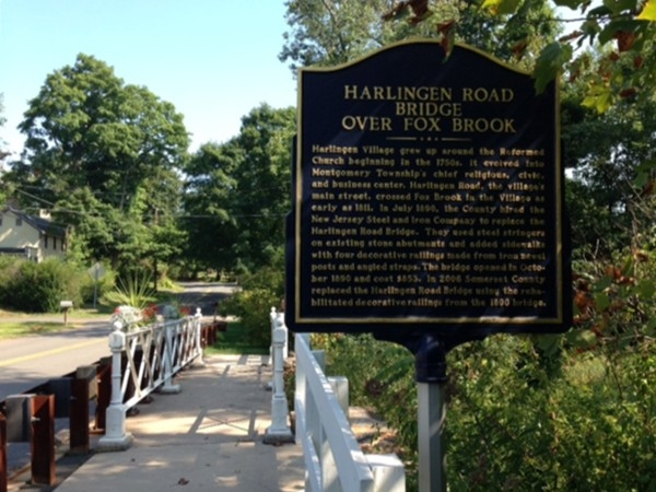 Take a ride down history lane and visit the Harlingen Road Bridge over Fox Brook, dates back to 1890
