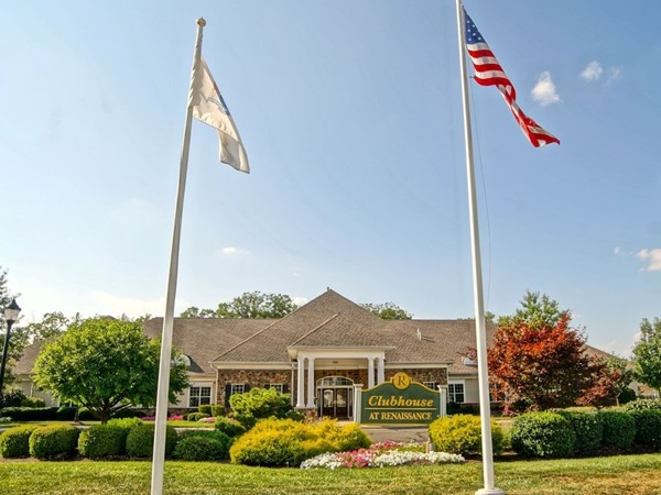 The Clubhouse at the Renaissance at Raritan - the Clubhouse offers many amenities to its residents