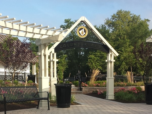 Piscataway continues to improve. New park on the corner of New Market and William Street