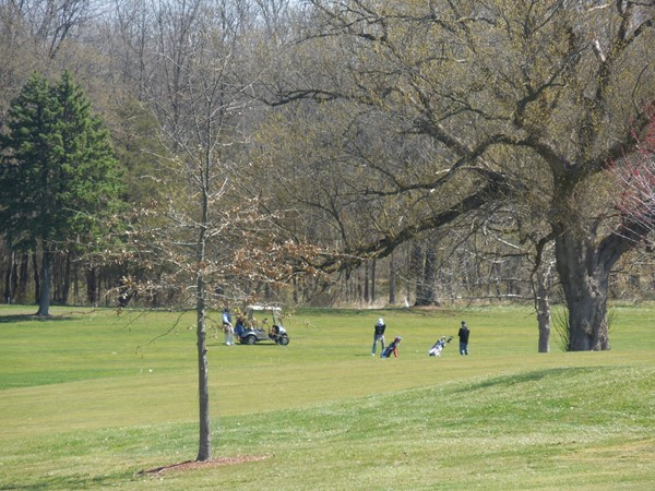 The Green Knoll Golf Course is known for its rolling hills and mature trees. Great for all golfers