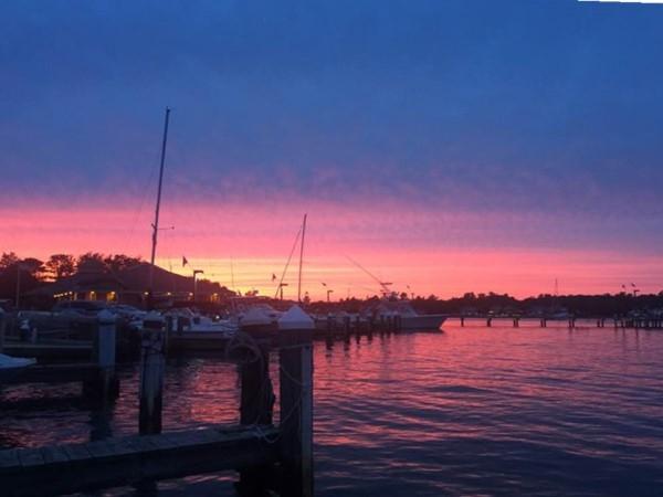 Sunset at The Marina at Southwinds