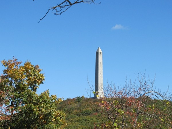 View of the monument at High Point State Park, Sussex