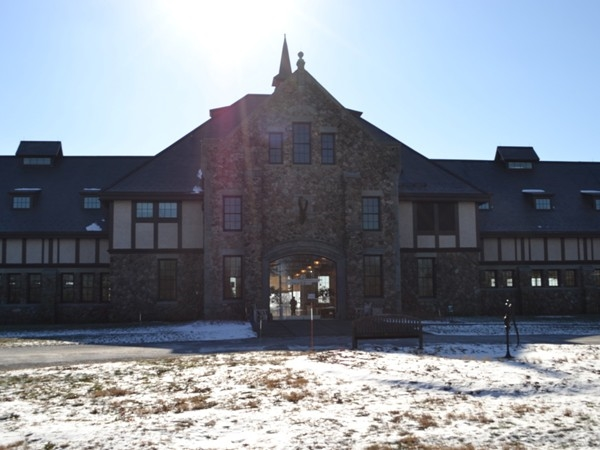 Duke Farms Orientation Center entrance- Hillsborough