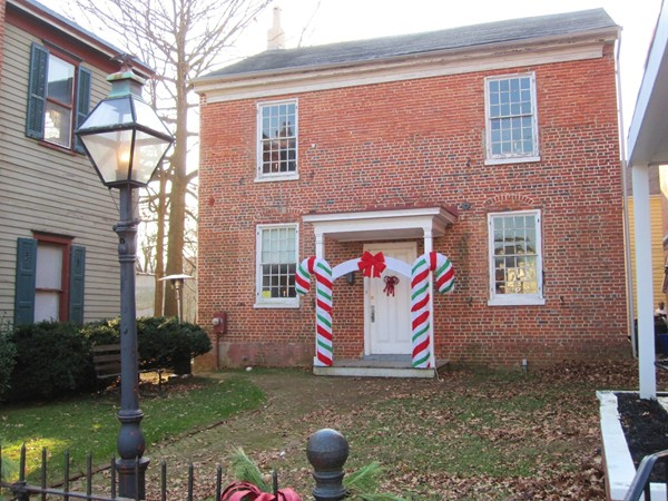Bordentown Historical Society Building. One of the oldest buildings in Bordentown!