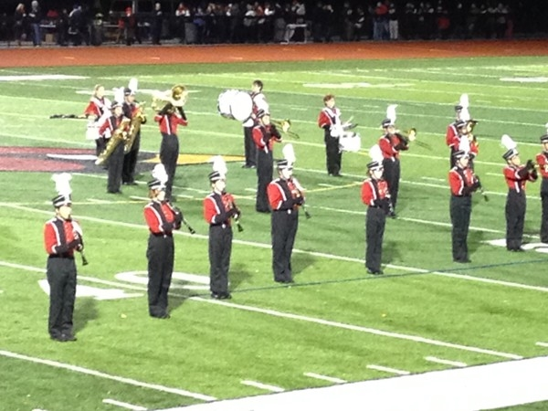 Westwood High School marching band