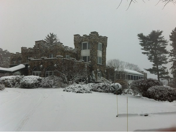 Ramsey Golf and Country Club in the winter