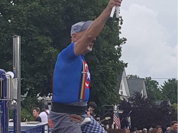 Uni-cycle Juggler at Milltown's 4th of July parade