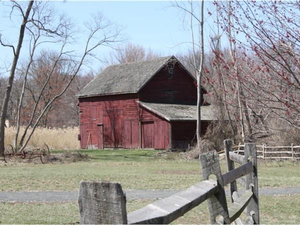 Barn at the historic New Bridge Landing