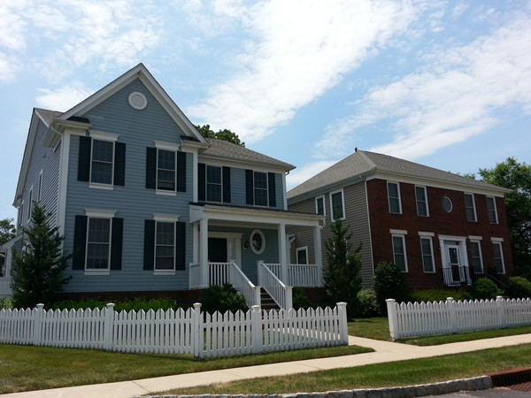 Plainsboro Village homes are just a few feet from shops and restaurants