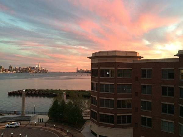 Another gorgeous view of a sunset at Port Imperial