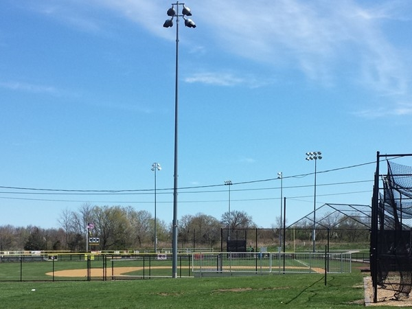 Piscataway Little League complex with 5 fields and a state of the art concession building