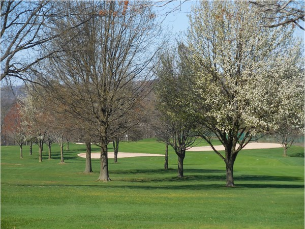 RVCC 18 hole golf course has terrific views and challenging play for golfers at every skill level