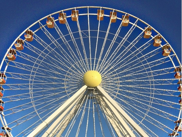 Wildwood has one of the largest Ferris wheels on the east coast