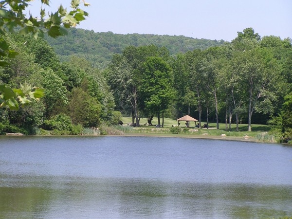 Eagle Rock Lake with view of the seventh tee