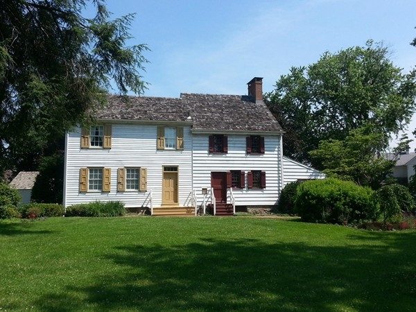 One of the oldest homes in Hamilton (1730), The John Abbott house is open for tours on weekends