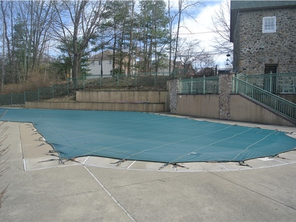Enjoy the pool during warm weather