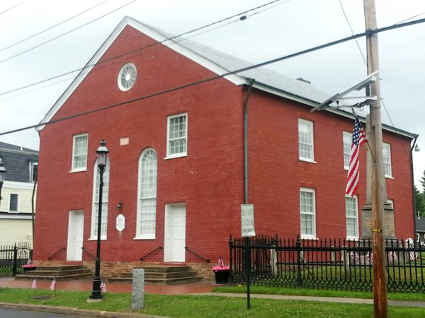 Baptist Church built in 1812 in Hopewell. Beside it are buried Revolutionary War veterans