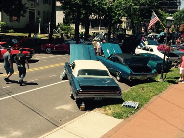 """The """"wine and shine"""" car show was a great addition to the Medford Art, Wine, and Music festival"""