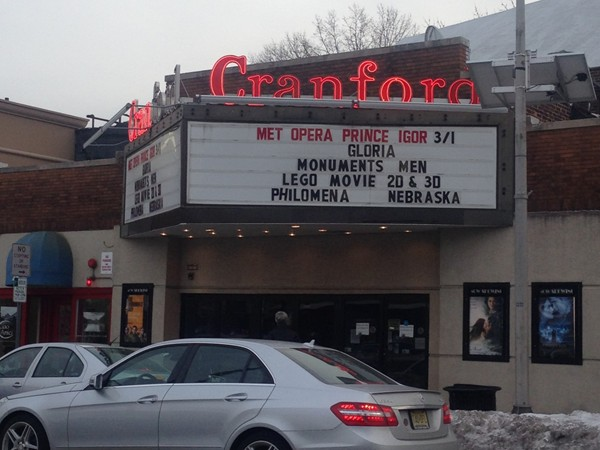 Cranford's very own movie theater plays new movies