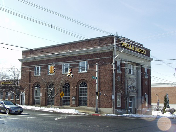 Historic bank building at park and kinderkamack road for Park ridge building department