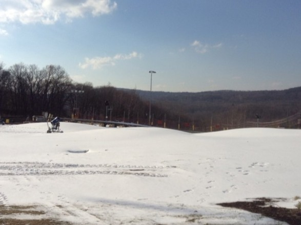 Making the snow, getting ready for the season