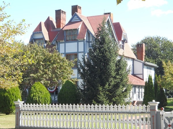 Emlen Physick Estate, on Washington Street is a historic, Victorian-era venue