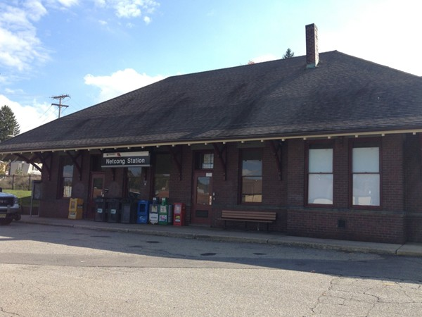 The historic Netcong Train Station