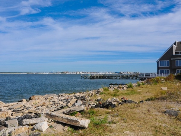 A bay view in Longport