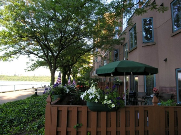 Independence Harbor has condos with private patio