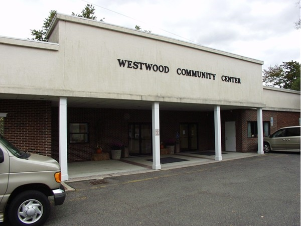 The Westwood Community center is HQ for the Westwood Recreation staff and town activities