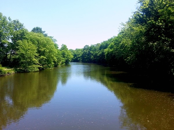 Delaware and Raritan Canal in Princeton -- perfect for fishing, canoeing or walk along the tow path