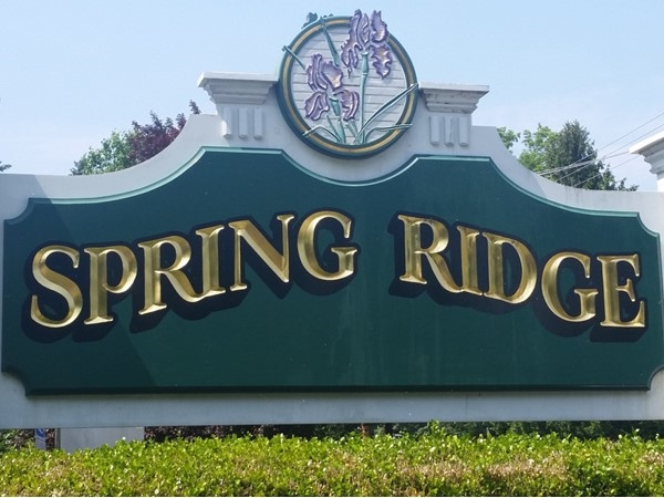 The Spring Ridge development in Basking Ridge features over a thousand condominiums