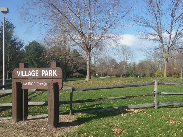 A sunny November afternoon at the Village Park in Lawrenceville