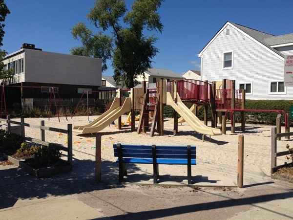 Ventnor Heights neighborhood playground is perfect for kids under 10