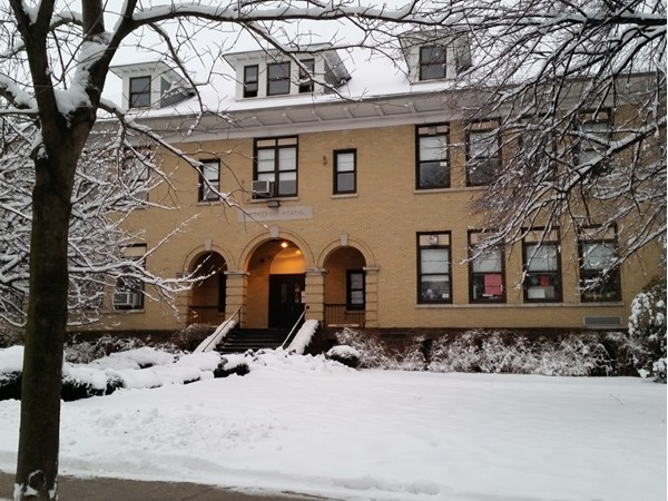 Quiet day at Pierrepont School today after our little snowstorm. Back to hustle and bustle tomorrow