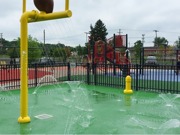 Berkeley Heights Splash Park - a great way to beat the heat