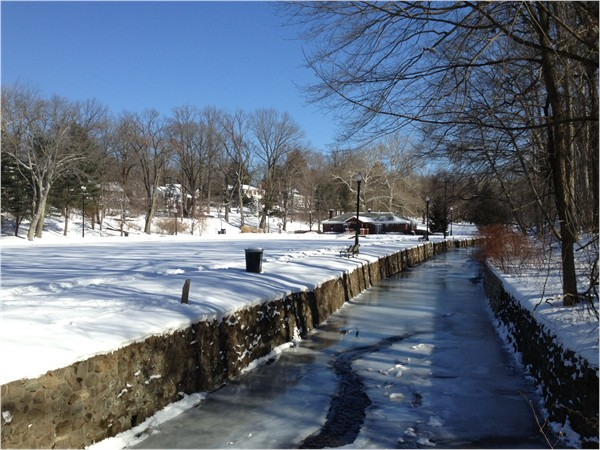 Caldwell's Grover Cleveland Park in the winter