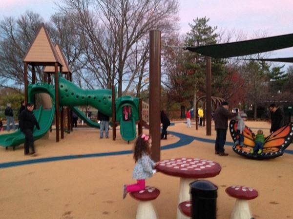 Refurbished Brookdale Park children's playground