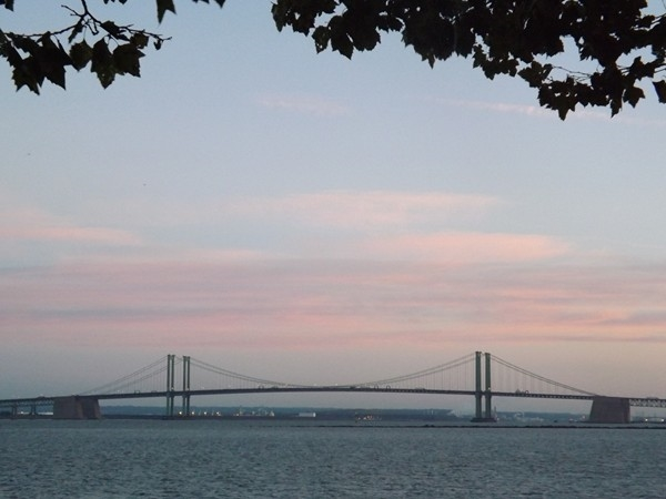 View of Delaware Bridge