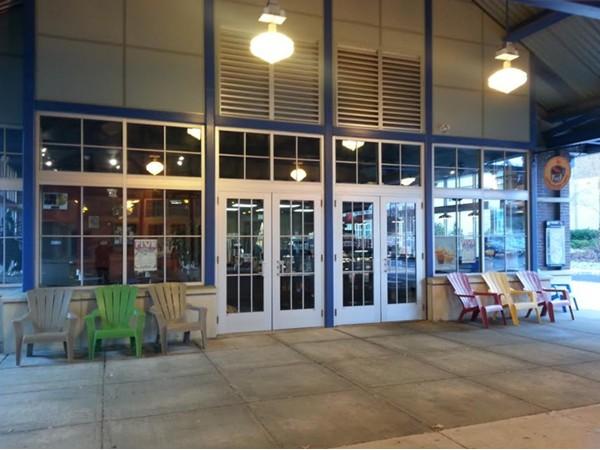 Rockin' Joe's Cafe at the Union Train Station