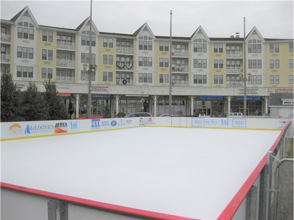 You can now enjoy some ice skating at Pier Village this winter