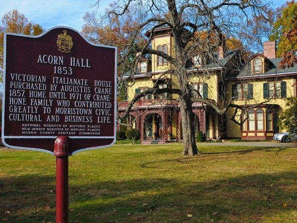 Historic Acorn Hall in Morristown