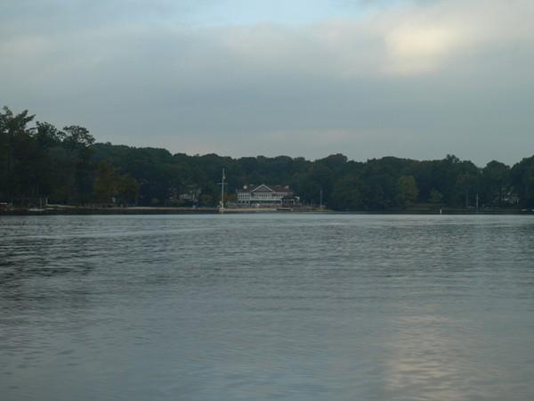 View of the Main Lake