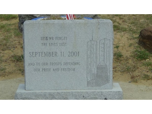 9/11 Memorial monument at the Keansburg beach front
