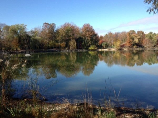 Picturesque Hamilton Lakes, the perfect spot for fishing and boating, or just relaxing!