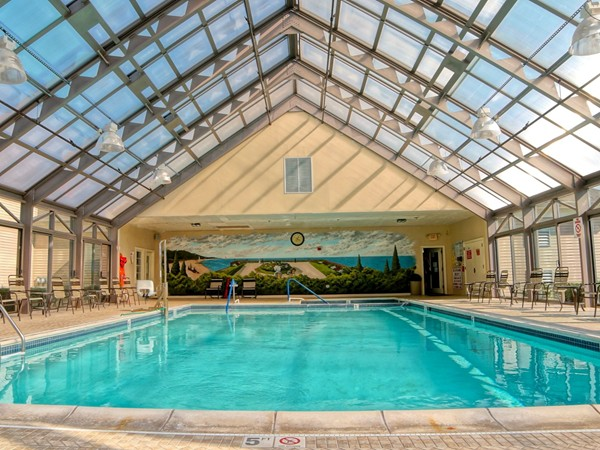 Renaissance offers many amenities including indoor and outdoor pools