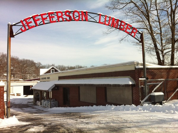 Jefferson Lumber and Millwork Corp. is located on Espanong Road in Jefferson.