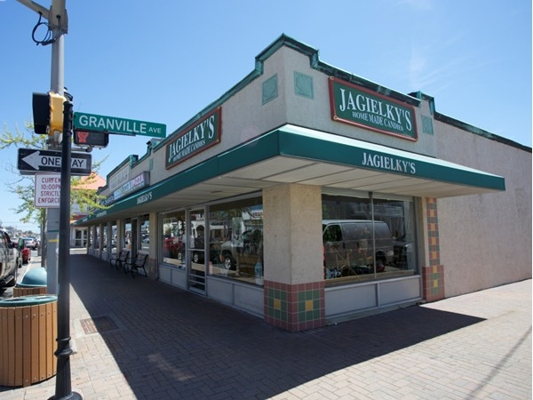 Jagielky's on Ventnor and Granville Ave is a great place to pick up some home made gourmet candy
